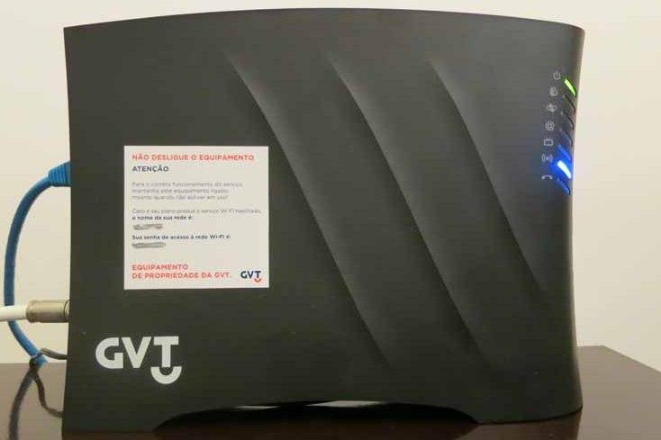 PowerBox GVT - Nome da Rede e Senha