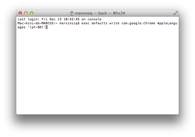 Terminal-OSX